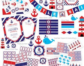 nautical invitation etsy