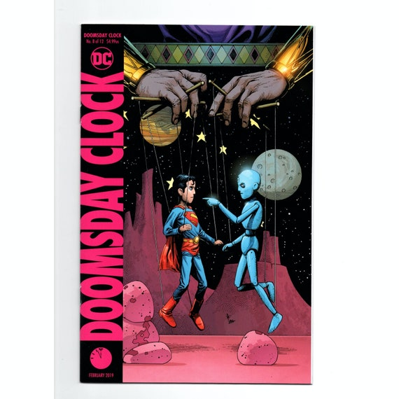 Doomsday Clock 8 Variant Gary Frank Cover Dc Comic Books Nm Etsy