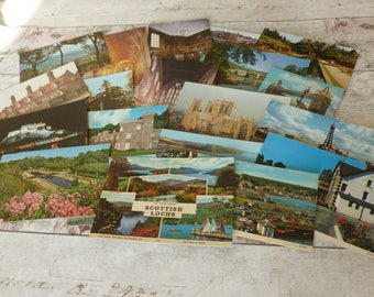 Vintage postcards 1980's set 3