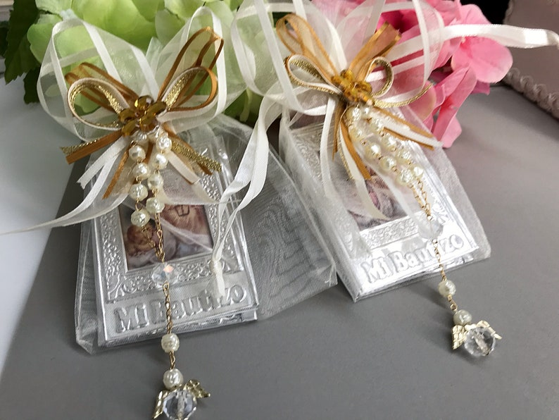 50 Baptism Favors Prayer Books Libritos De Oracion Para Etsy