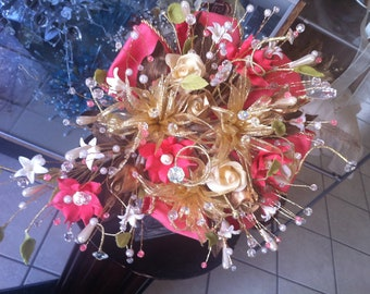 Wedding or Quinceanera Bouquet/ramo de novia o quinceanera
