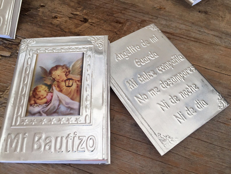 16 Baptism Favors Recuerdos De Bautizo Christening Favors Etsy