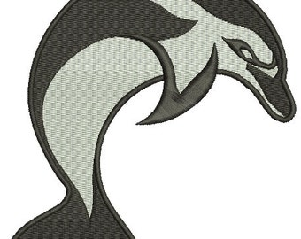 dolphin / grampus  Machine Embroidery Designs, instantly download