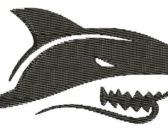 shark Machine Embroidery Designs  instantly download