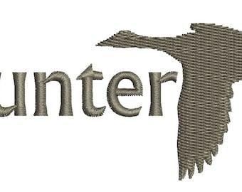 duck hunter - Machine Embroidery Design