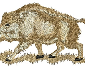 boar -Machine Embroidery Designs INSTANT DOWNLOAD 6* 7.4 inc / 150*85mm / 19500 stc