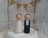 Personalised wedding toppers, Personalised cake topper, Set of 2 wedding Toppers, Bride & Groom Toppers, Cake Toppers, Wedding Cake Decor