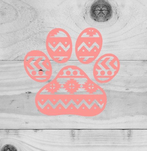 Mandala Svg Paw Print Svg Mandala Paw Print Dog Paw Etsy