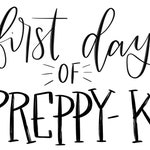 First and last day of preppy-k