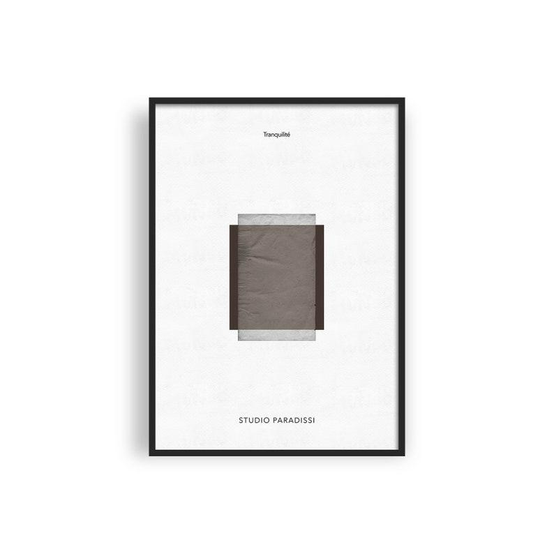 Wabi Sabi Abstract Printable Art Modern Wall Decor image 0
