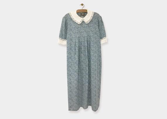 Blue Floral Prairie Dress