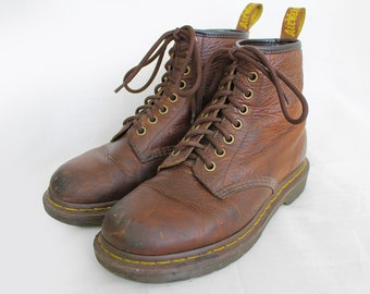 Vintage Dr Martens Rugged Brown Leather Doc Martens Boots  36EU / 5US / 3UK for Women