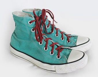 7d4006a7ad31 US6 Vintage Green Chuck Taylor All Stars Converse Sneakers for Women   UK4    EU37   US6
