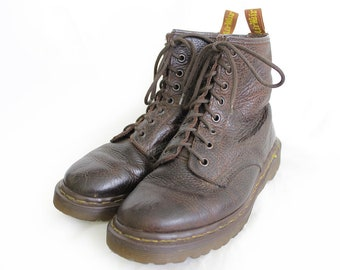 Vintage Dr Martens Rugged Brown Leather Doc Martens Boots  37EU / 6US / 4UK for Women