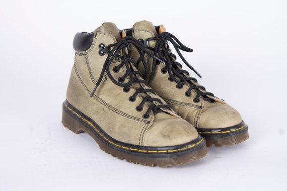 US7 Dr Martens Vintage Dark Navy Blue Leather Doc Martens Boots  EU38  US7  UK5 for Women