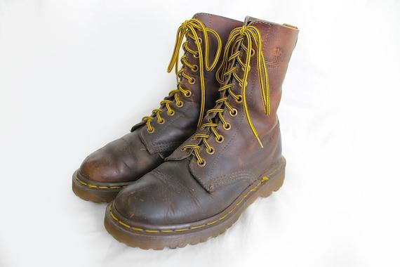 5 Us5 Für Stiefel 5 Braun Eu36 Martens 5 Frauen Uk3 Dr Robuste Vintage Leder Doc ukiOPXZ