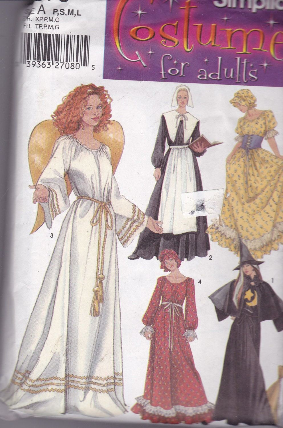 Witch Costume Pattern Simple Design Ideas