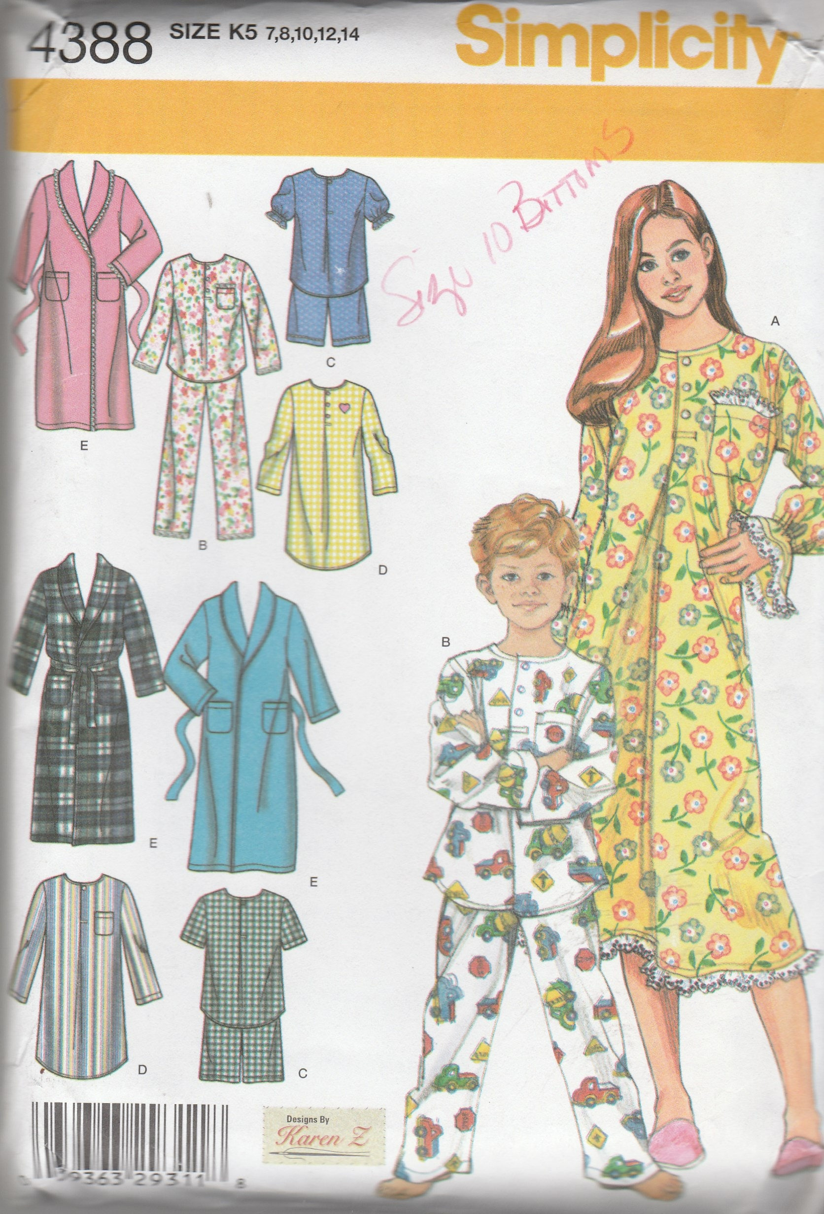 Simplicity Pajama Patterns Cool Design Ideas
