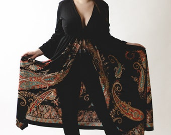 Gold Dust Woman Paisley Kimono