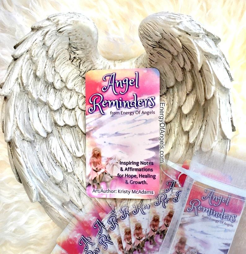 Angel Reminders Card Deck Affirmations Positive Spiritual image 0