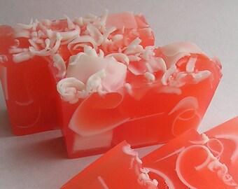 Soap - Coco Mango  - Glycerin Soap - Fruity Soap