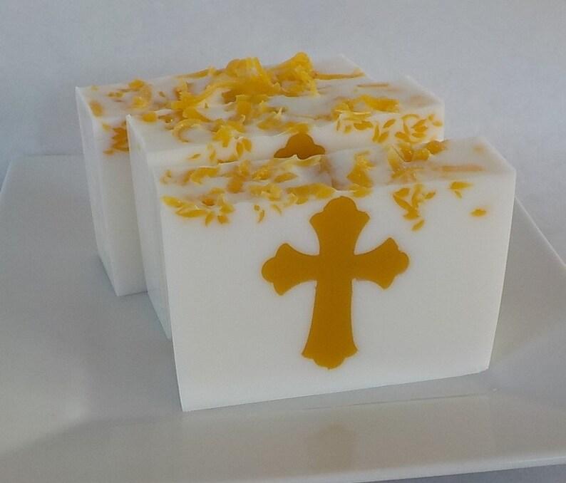 Cross Soap  Religious  Soap  Communion Soap Favors  image 0