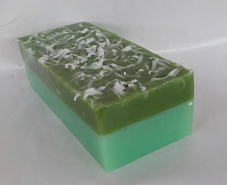 Frasier Fir Soap Loaf Green Pine Christmas Glycerin Soap image 0