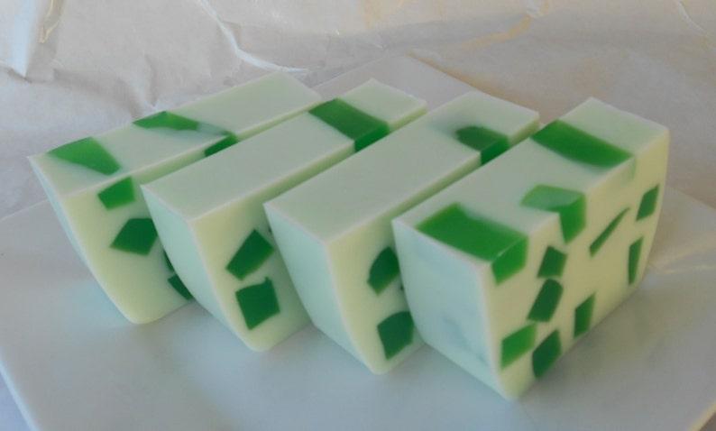 Sinus Relief Soap Eucalyptus Mint Glycerin Soap image 0
