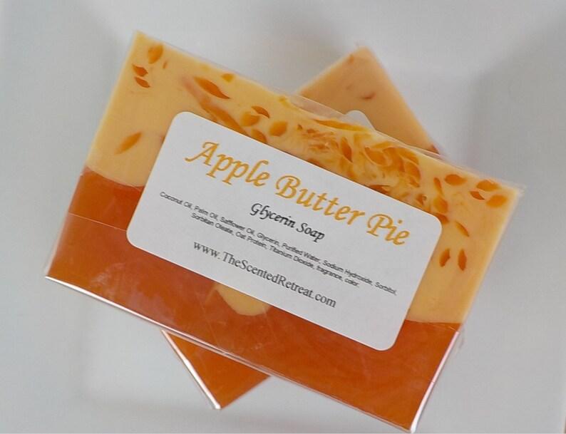 Apple Butter Pie Glycerin Soap Bakery Fall Soap image 0