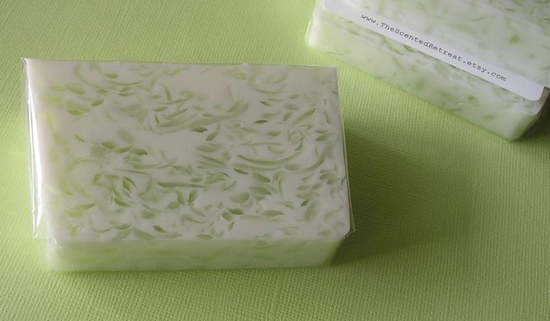 Juniper Breeze Soap Jasmine Greens Glycerin Soap image 0