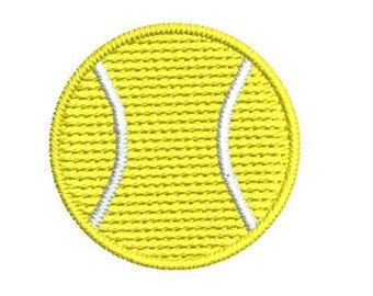 Tiny Tennis Ball Embroidery Machine Design, Tennis ball embroidery pattern, sport embroidery design, tennis towel design