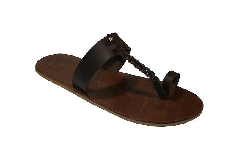 c43d639d46051a Brown Califo Leather Sandals for Women   Men - Handmade Leather Sandals