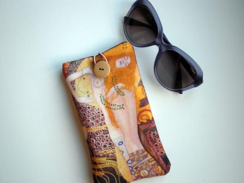 Caso Las Gafas Klimt Sol Arte LenteEtsy De Gustav Yyvf7g6b
