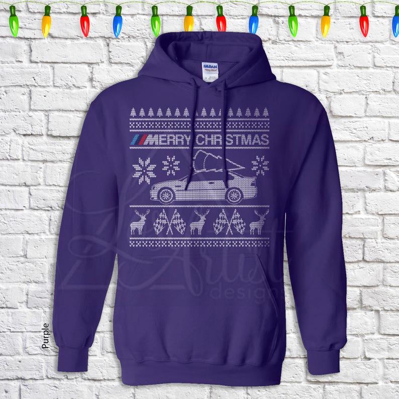 Kersttrui 20 Euro.Bmw E46 Christmas Sweater Hoodie Etsy