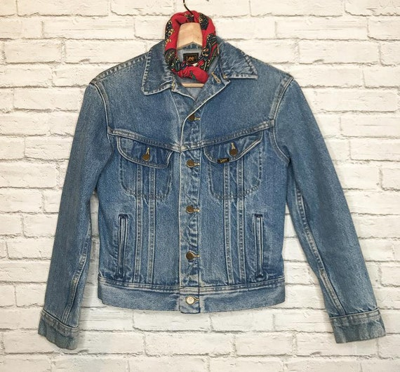 70's Lee Riders Denim Jean Jacket - image 7
