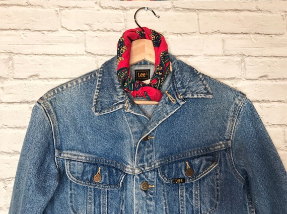 70's Lee Riders Denim Jean Jacket - image 8