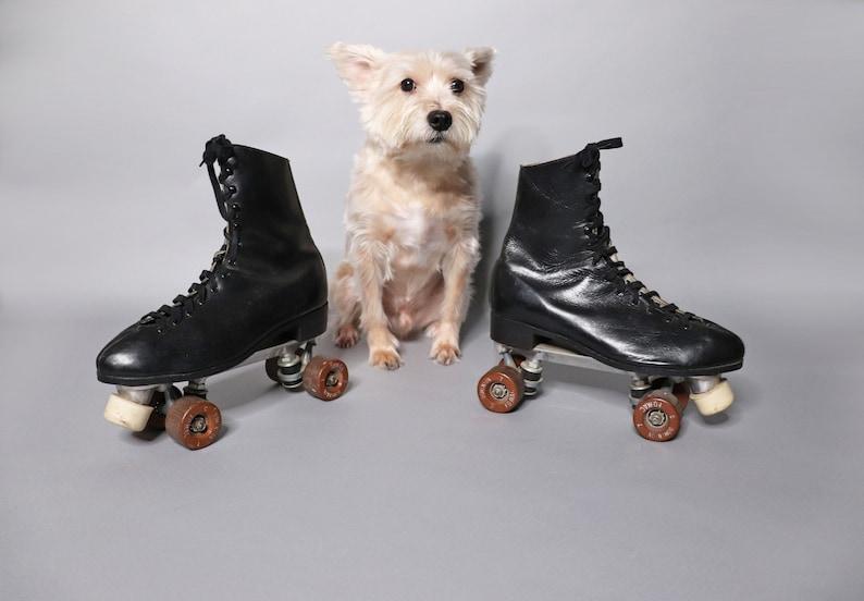 1960's Mens Roller Skates  Size 10  Original Dominion image 0