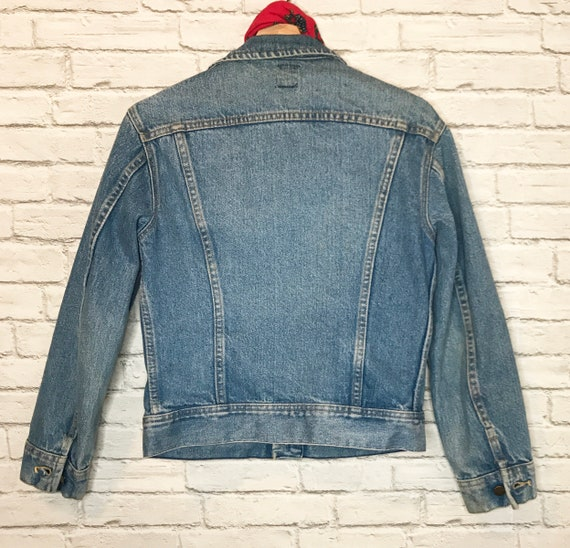 70's Lee Riders Denim Jean Jacket - image 9