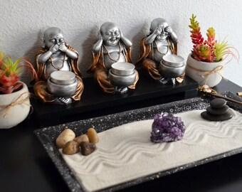 Ufficio Zen Garden : Unique zen gardens original handmade gifts and di zenfoxstudio