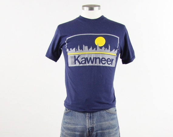 Kawneer Vintage Company T-shirt Men's Size Small Made in USA