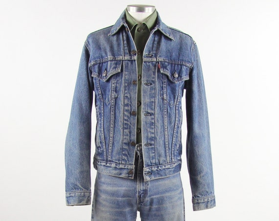 Levi's Vintage Jean Trucker Jacket Size M Medium 38 Denim Jacket Made in USA