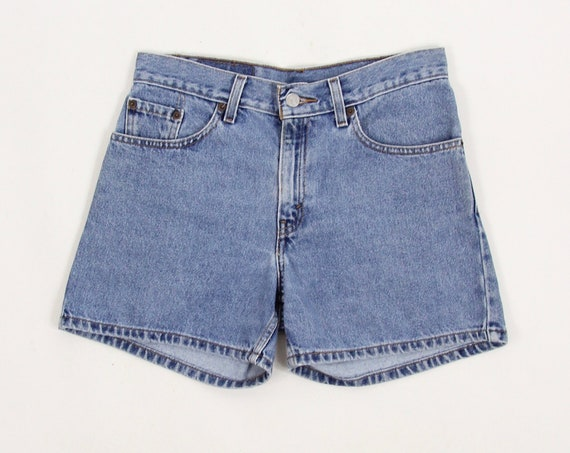 Levi's Jean Shorts High Waisted Hemmed Shorts Jorts Size 5 30""