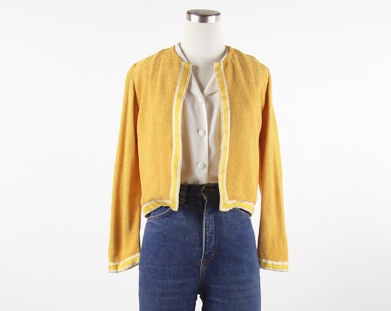1950's Hand Made Cardigan Sweater Women's Size Small / Medium