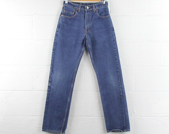Levi's Dark Wash Vintage Jeans Red Tab 505 Made in USA 29 x 32