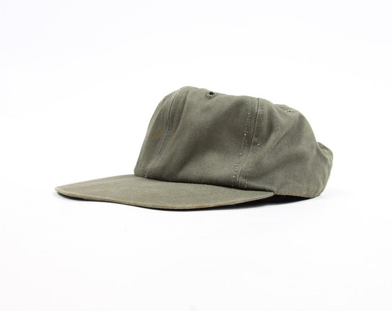 Olive Green Derby Brand Hunting Fitted Hat Vintage Size Medium Large