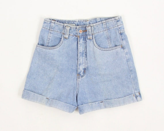 "Rio Jean Shorts Women's High Waisted Jorts Tag Size 28.5"" 100% Cotton"
