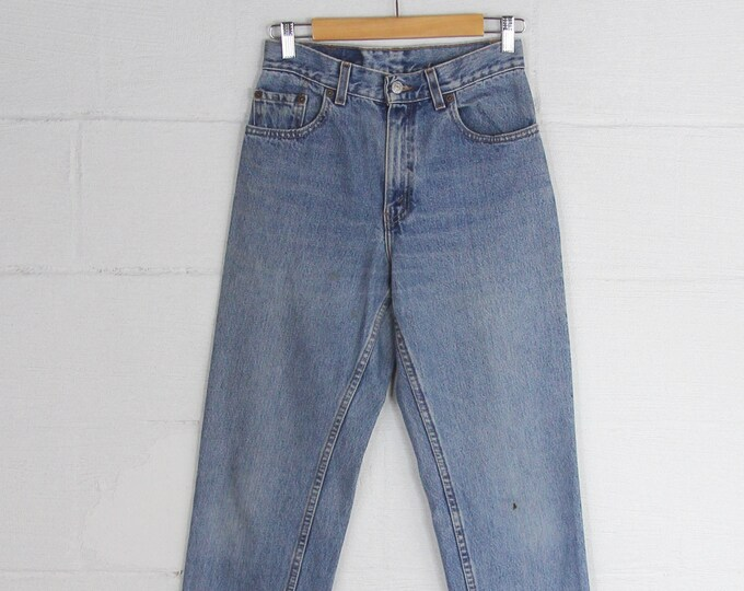 Vintage Levi's 550 High Waisted Women's Jeans Size 7 28x32