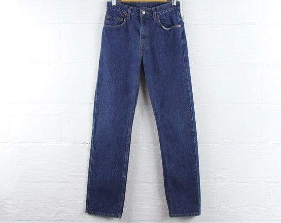 Vintage Levi's Dark Wash Jeans 505 Straight Leg 29 x 32