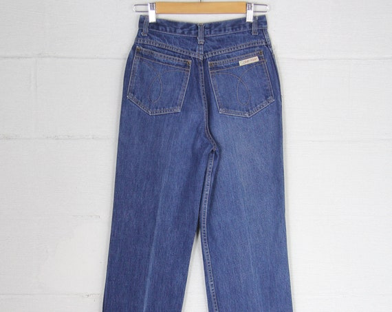 Women's Calvin Klein High Waisted Vintage Jeans Made in the USA Size 8