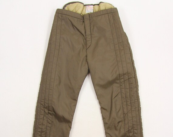 60's Ted Williams Sears Men's Thermal Long John Winter Insulated Pants One Size